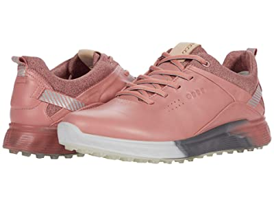 ECCO Golf S-Three GORE-TEX(r) (Damask Rose Cow Leather) Women