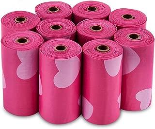 pink dog poop