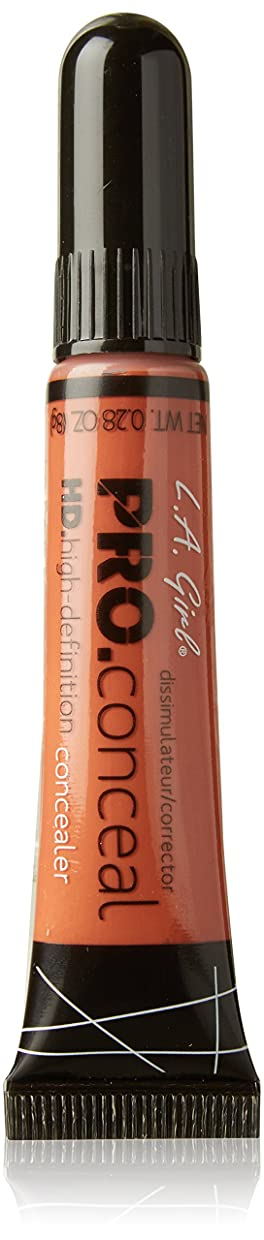 叫ぶ食堂イタリアのL.A. Girl Cosmetics PRO Conceal HD Concealer Orange Corrector 8g