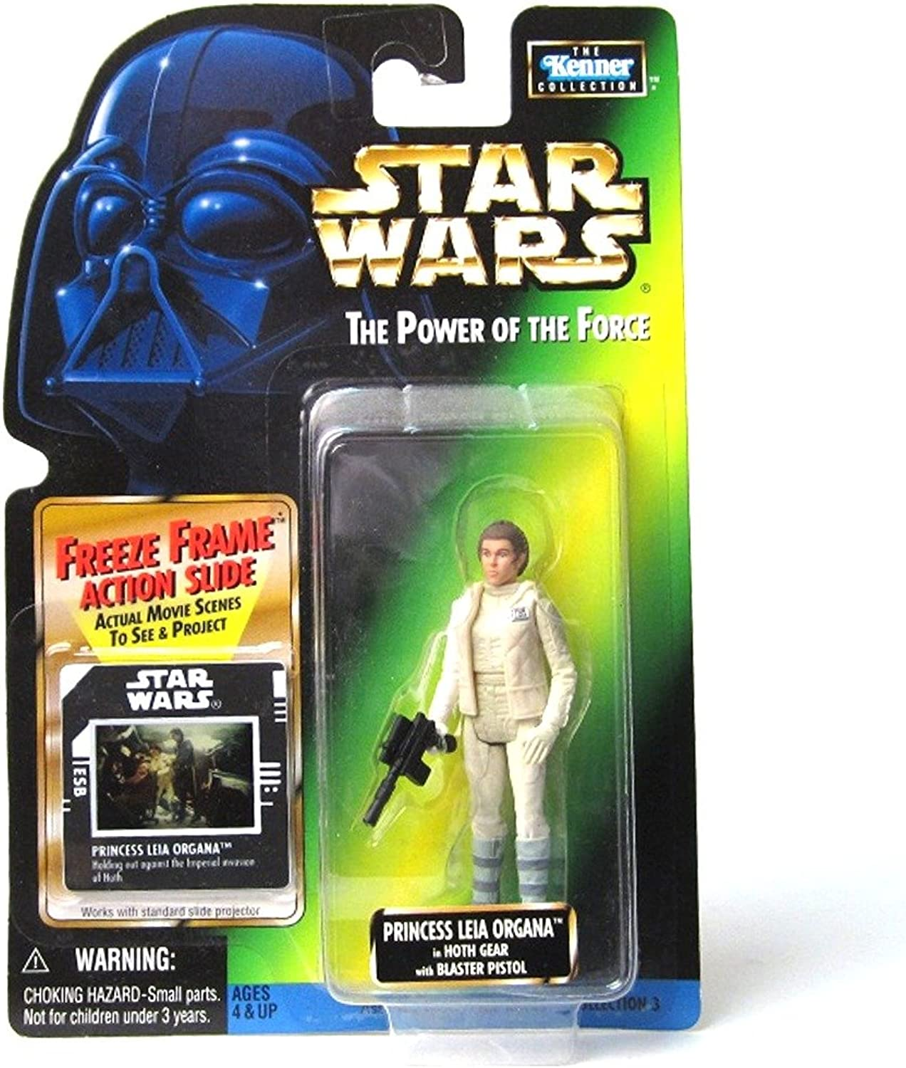 Toy Rocket Star Wars Power of the Force Fan Club Exclusive Princess Leia Organa in Hoth Gear Action Figure
