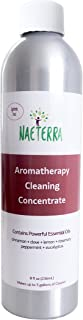 8 Oz. Authentic & Manufacturer Direct- Naeterra Aromatherapy Cleaning Concentrate, 100% Natural with Powerful Essential Oils Deep Cleans Kitchen, Bathrooms, Floors & More