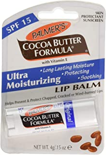Palmer's Cocoa Butter Formula Lip Balm, Pack of 3