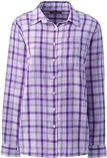 lands end linen blouse
