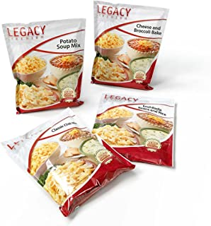 gluten free freeze dried food storage