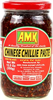 AMK Chinese Chillie Paste 350g, Hot & Spicy Flavor, Sri Lankan Style Chinese Chili Paste, Product of Sri Lanka