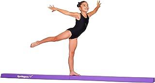 Springee 9ft Balance Beam - Extra Firm - Vinyl Folding Gymnastics Beam for Home