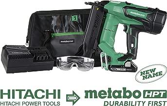 Metabo HPT NT1850DE 18V Cordless Brad Nailer Kit, Brushless Motor, 18 Gauge, 5/8