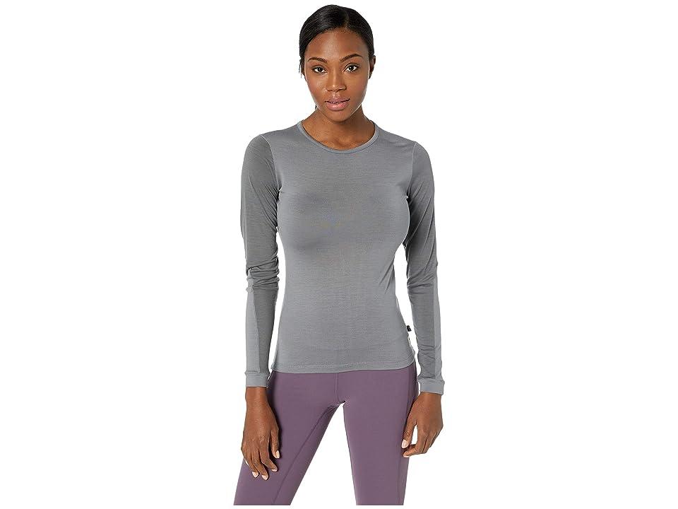 Fjallraven Keb Wool T-Shirt Long Sleeve (Light Grey/Grey) Women