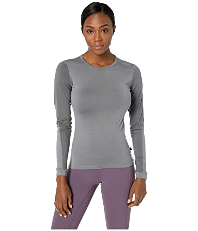 Fjallraven Keb Wool T-Shirt Long Sleeve (Light Grey/Grey) Women