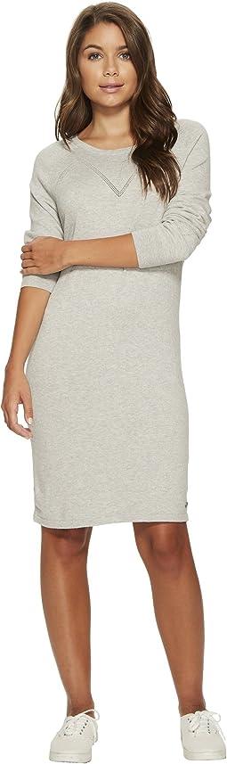 Roxy - Winter Story Long Sleeve Button Back Dress