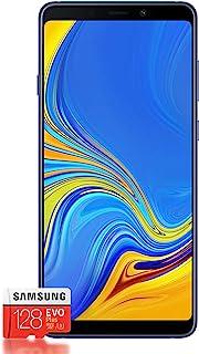 Samsung Galaxy A9 (2018) Smartphone Bundle [6.3 英寸, 128GB] + Evo Plus 128 十亿字节 闪存