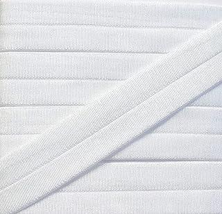 großhandel für schneiderbedarf Großhandel für Schneiderbedarf 5 m elastisches Einfaßband 15 mm weiß seidig glänzend 1,19 €/m