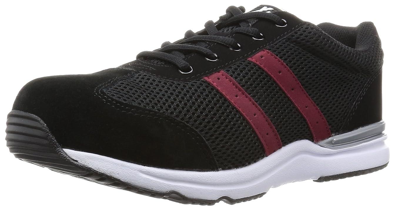 検出するフェロー諸島権限安全靴 85110 メッシュ 超軽量セーフティシューズ ブラック 26.0 cm