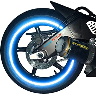 motorcycle wheel reflective tape