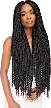 """MULTI PACK DEALS! Janet Collection Synthetic Hair Crochet Braids Nala Tress Passion Twist Braid 24"""" (5-PACK, 51)"""