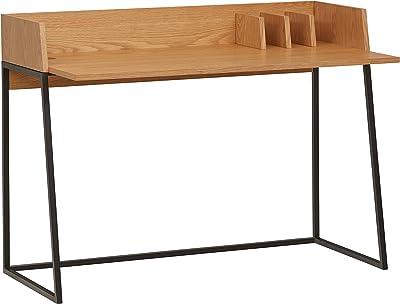 Amazon Brand – Rivet Mid-Century Desk - 35 Inch, Natural