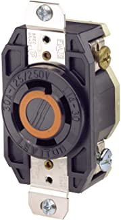 Leviton Flush Mounting Locking Receptacle, Industrial Grade