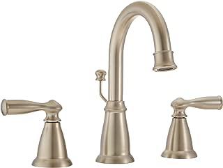 Moen WS84924SRN Banbury Two-Handle High Arc Bathroom Faucet, Spot Resist Brushed Nickel