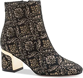 5037e1b6b1c DKNY Womens Corrie Leather Almond Toe Ankle Fashion Boots