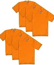 Pro Club Men's 6-Pack Heavyweight Cotton Short Sleeve Crew Neck T-Shirt