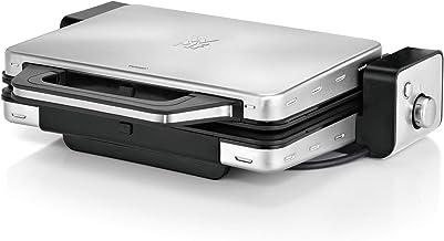 WMF Lono Contactgrill 2-in-1, elektrische tafelgrill, 2 grillplaten, uitneembare opvangschaal, vaatwasmachinebestendig, ro...