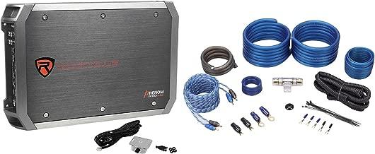 New Rockville RXD-M2 3000 Watt/1500w RMS Mono 1-Ohm Car Amplifier+Amp Wire Kit