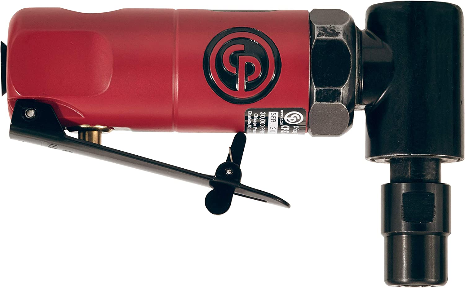 New York Mall Chicago Pneumatic CP875 Right Angle OFFicial site Gr Grip Die Pistol
