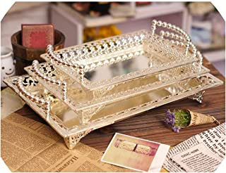 Plates Relief Fruit Cake Stand Plate Fruits Tray Pallet Decoration Wedding Party Dishes,Small,Small1
