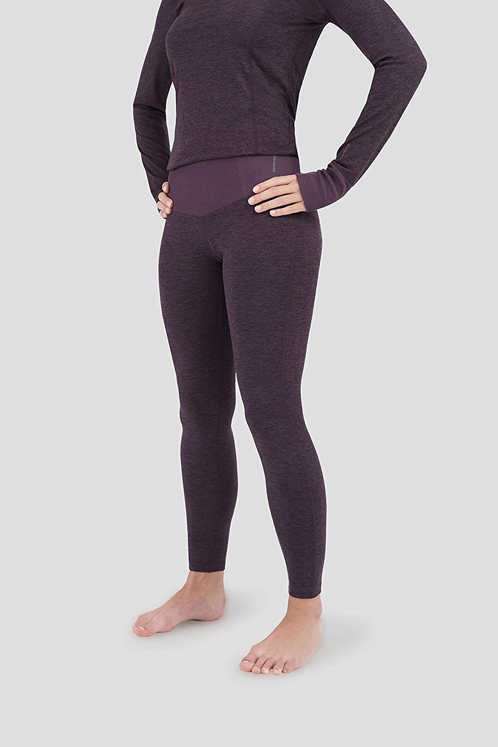 Terramar High material Women's All stores are sold Cloud Nine Melan Performance Tights Blackberry