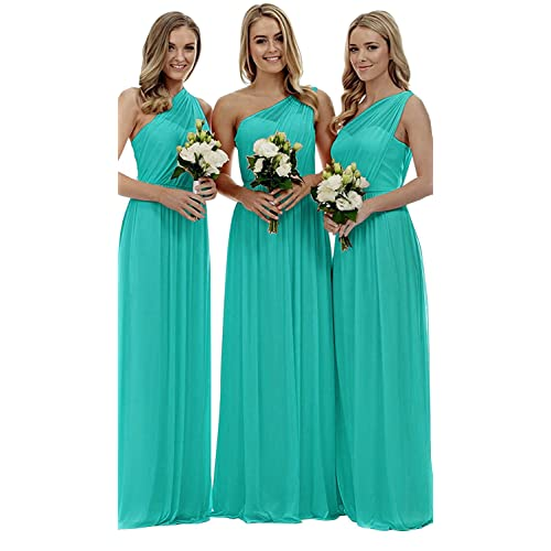 Blue Turquoise Bridesmaid Dresses Amazon