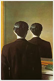 American Gift Services - Artist Rene Magritte Fine Art Poster Print of Painting Not to Be Reproduced - 24x36