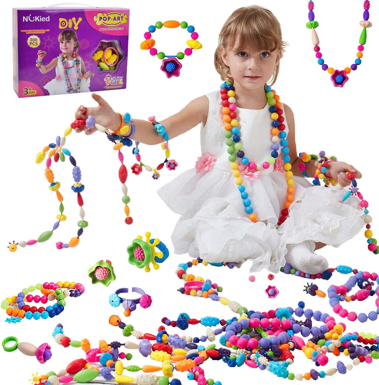 Pop Beads Jewelry Making Kit - DIY Arts Popular shop is the lowest Japan's largest assortment price challenge Pcs Snap 300