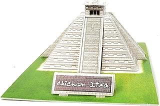 TriPro 3D Jigsaw Puzzle Worlds Greatest Architecture DIY Model Set (Maya Pyramid Mexico)