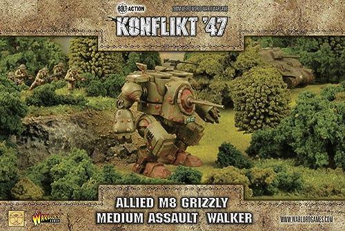 Warlord Games Konflikt '47 Allied Grizzly Medium Walker