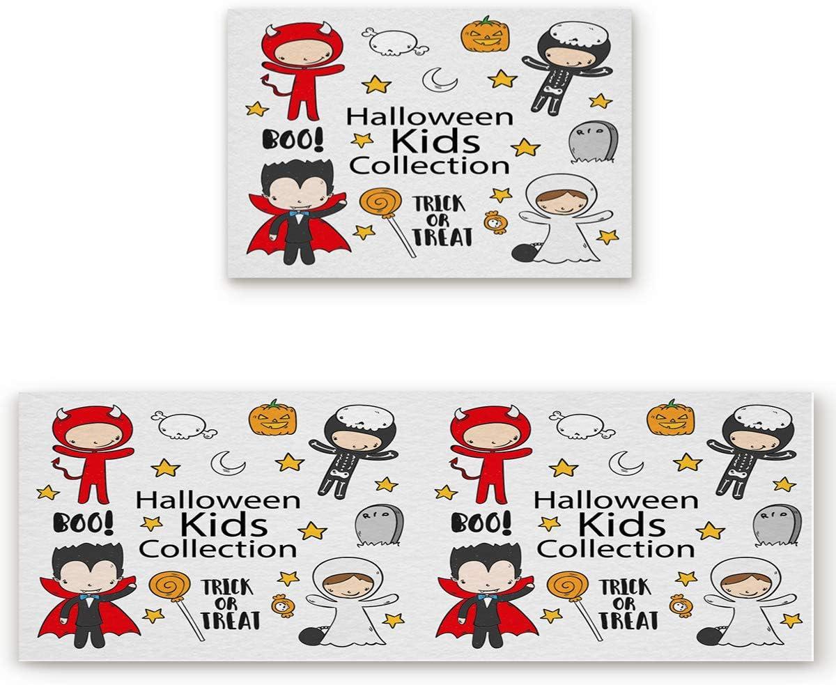 BestLives Halloween Kitchen Rug Collection Phoenix Mall C Sets Surprise price Kids