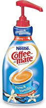 Nestle Coffee-mate Coffee Creamer, French Vanilla,  Liquid Pump Bottle, 50.7 Fl Oz (Pack of 4)