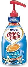 Nestle Coffee-mate Coffee Creamer, French Vanilla,  Liquid Pump Bottle, 50.7 Fl Oz (Pack of 4)