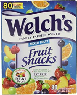 Lunchbox Perfect Welch's Mixed Fruit Snacks (0.9 oz., 66 pk.)fds