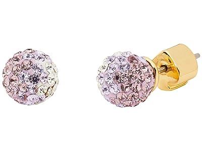 Kate Spade New York Brilliant Statements Mini Studs Earrings (Purple Multi) Earring