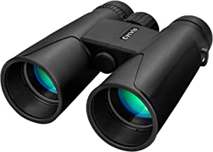 Binoculars for Adults - 10x50 Professional HD Binoculars Durable Full-Size, Binoculars for Bird Watching Travel Sightseeing Outdoor Sports Games and Concerts with Clear Weak Light Vision (1.1 pounds)