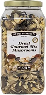 The Wild Mushroom Co. Dried Gourmet Mix European Mushrooms 12 Ounces (340g) (2 Pack)