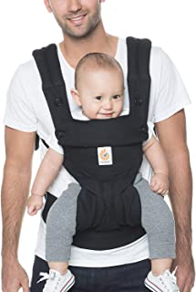 Ergobaby Carrier, 360 All Carry Positions Baby Carrier, Pure Black