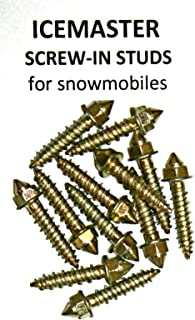INS Products Ice Masters Screw-in Studs for Snowmobiles w/Tool- 1