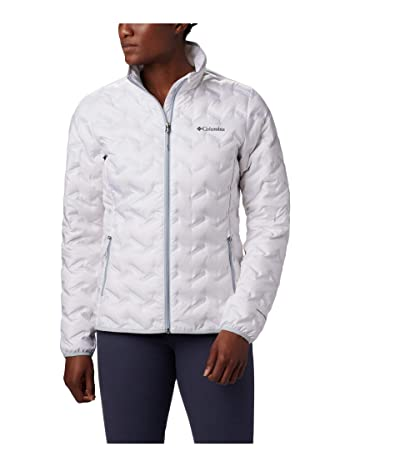 Columbia Delta Ridgetm Down Jacket (White/Citrus) Women