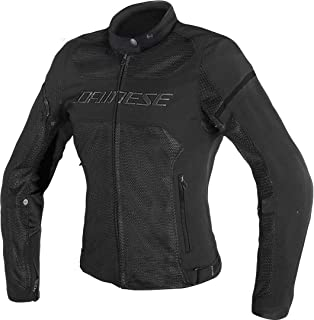 Dainese Women's Air Frame D1 Lady Tex Jacket Black 46