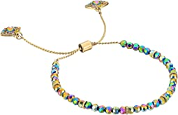 Steve Madden - Beaded Casted Dangle Anklet