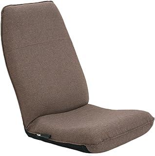 産学連携 レバー式ハイバック座椅子 CBC313 ブラウン 腰痛 日本製 リクライニング 姿勢 人気 レバー レバー式