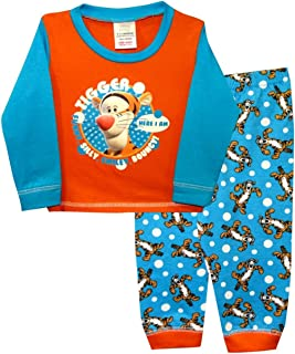 Pijama de algodón para bebé de Disney Mickey/Minnie Mouse, Dumbo, Tigger de 6 a 24 meses