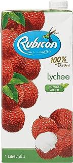 Rubicon Lychee Juice Drink, 1 Liter - Pack of 1