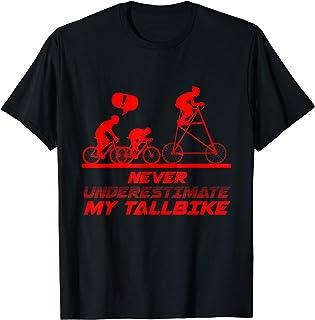 トールバイク 然る事ながら 過小評価 自転車 自転車 サイクリスト プレゼント Tシャツ